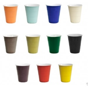 Coffee Cups in Colors Medium Excel A S