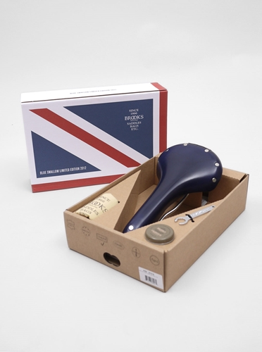 Brooks Limited Edition Saddle Dark Navy Present London
