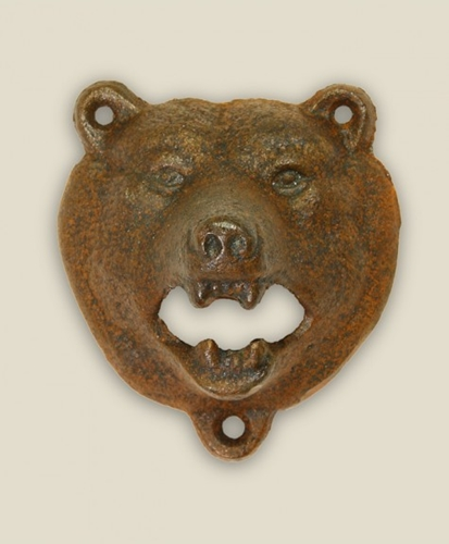 STAG Bottle Opener Bear Rust BARWARE