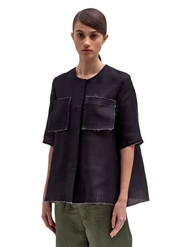 Yang Li Women's Couture Silk Cotton Shirt