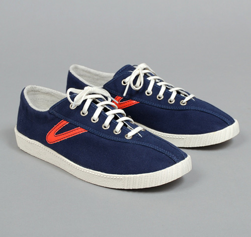 NYLITE CANVAS NAVY WITH RED GULLWING HICKOREE S HARD GOODS