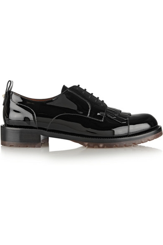 Valentino Formal Patent Leather Brogues Net A Porter.Com