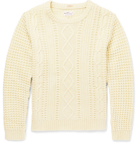 Gant Rugger Cable Knit Wool Sweater Mr Porter