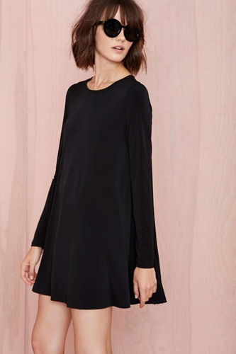Full Swing Dress Black Shop Dresses At Nasty Gal