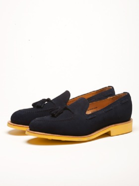 Soto Berlin Online Store Mark McNairy Apron Tassel Loafer Blue Yellow