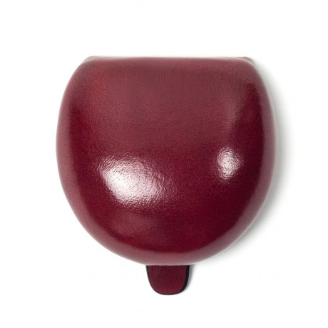 Il Bussetto Red Leather Tacco Coin Case