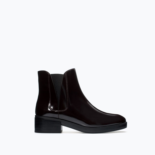Flat Elastic Chelsea Boot Shoes Woman Shoes Bags Zara United States