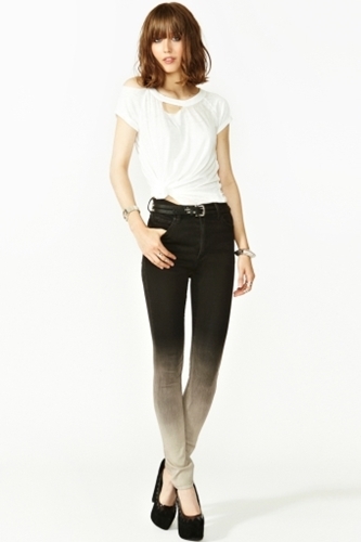 Second Skin Jeans Ombre In What's New At Nasty Gal