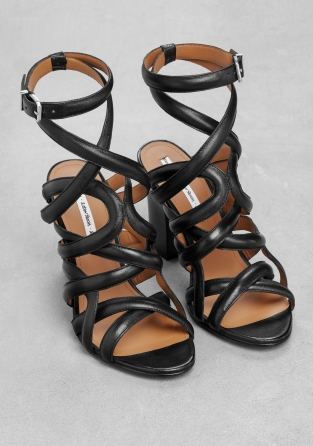 Other Stories Strappy Leather Sandals