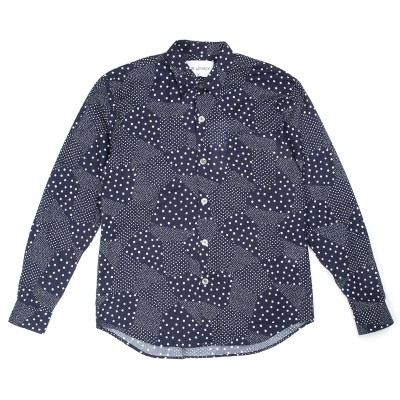 Our Legacy Six Dots Shirt In Navy Atoo.Co.Uk
