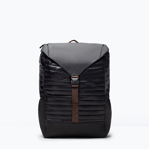Quilted Rucksack Man New This Week Zara United Kingdom