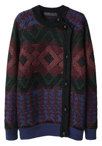 Proenza Schouler Button Side Cardigan La Garconne