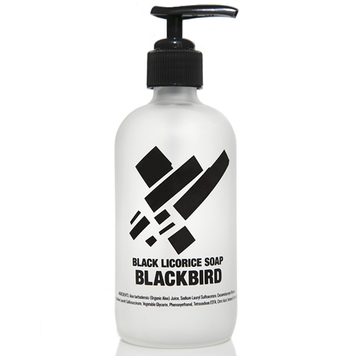 Black Licorice Hand Soap Blackbird