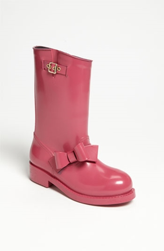 RED Valentino Moto Rain Boot Women Nordstrom