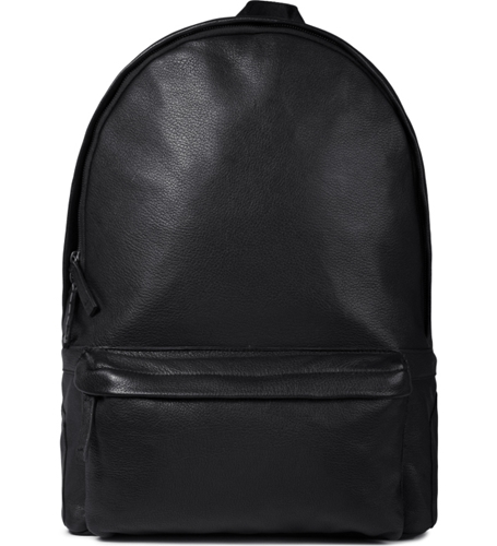Iise Black Leather Daypack Backpack Hypebeast Store. Shop Online For Men's Fashion Streetwear Sneakers Accessories