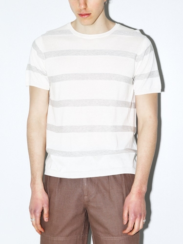 Standard Issue Striped Knit Tee Oak