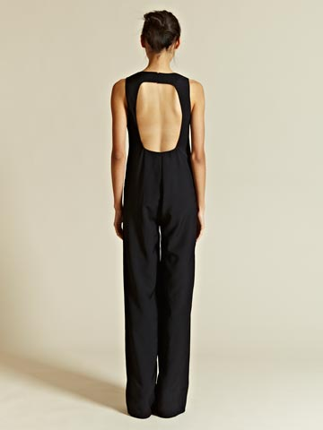 Yang Li Women's Hand Finished Double Faced Jumpsuit Ln Cc