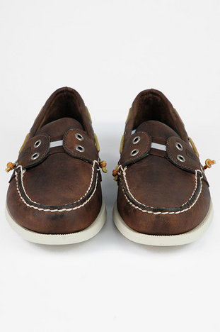 sperry premier no laces leather boat shoes in nuji