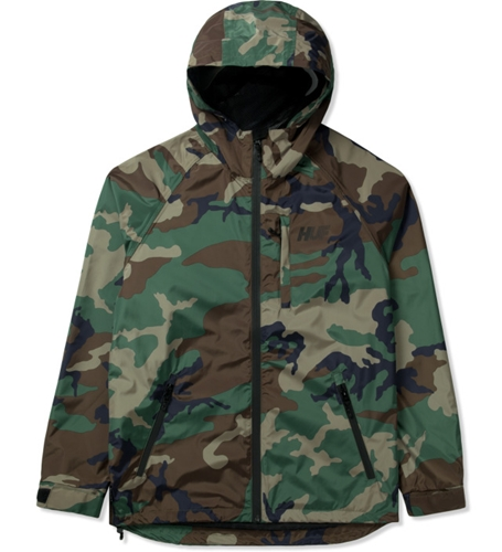 Huf Woodland Camo 10K Tech Jacket Hypebeast Store. Shop Online For Men's Fashion Streetwear Sneakers Accessories
