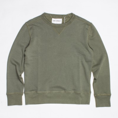 Our Legacy Bulk Sweatshirt Olive