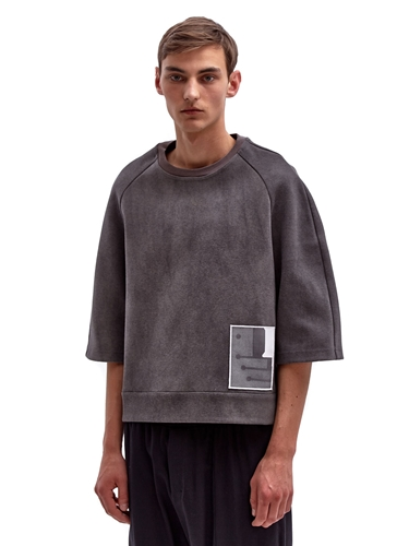 Damir Doma Men's Oversized Heavy Trienta Top Ln Cc