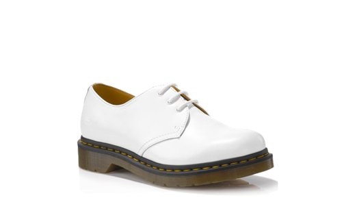 Dr Martens 1461 WOMENS WHITE SMOOTH Doc Martens Boots and Shoes
