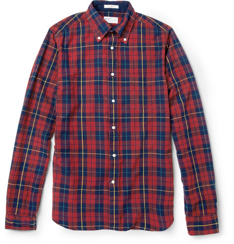 Gant Rugger Slim Fit Check Cotton Shirt Mr Porter