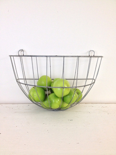 Vintage Wire Wall Basket By Zassystreasures On Etsy