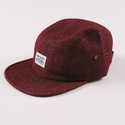Norse Project Cotton Wool Blend 5 Panel Red
