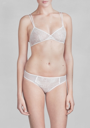 Other Stories Embroidered Bra