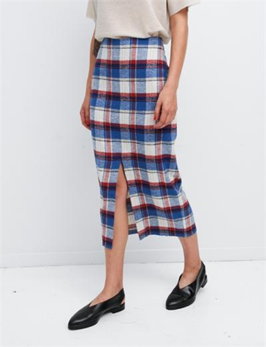 Creatures Of Comfort Therese Skirt Plaids Royal