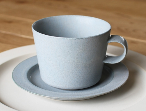Cup And Gouter Unjour Matin In Smoke Blue By Yumiko Iihoshi Oen Shop