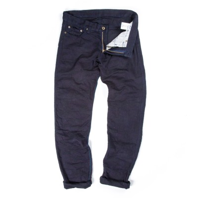 Japan Blue 10Oz Jacquard Camouflage Skinny Indigo Www.Atoo.Co.Uk