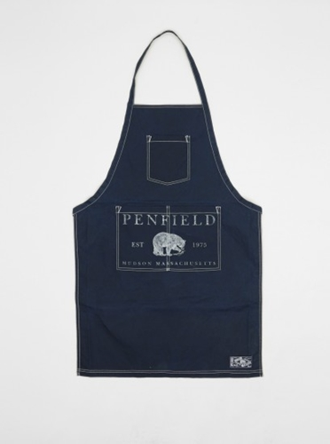 Penfield Gilroy BBQ Apron Navy Present London