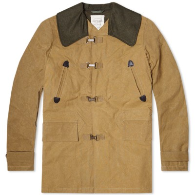 C.C. Filson By Nigel Cabourn Clip Coat Tan