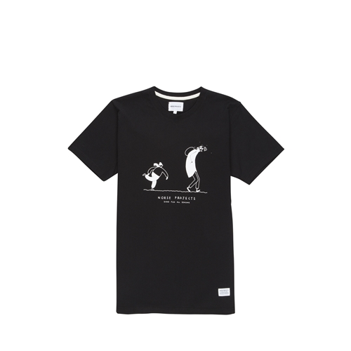 Norse Projects Niels Mondays Snowball T Shirt Norse Projects