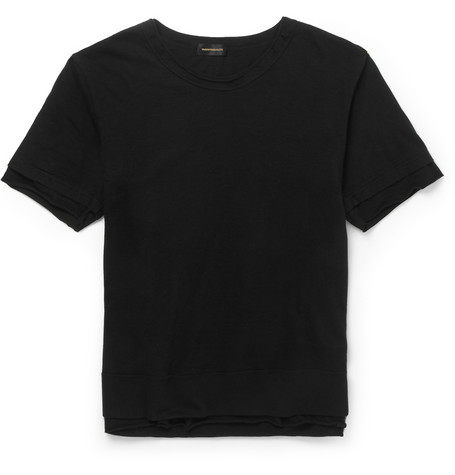 Undercover Double Layered Cotton T Shirt Mr Porter