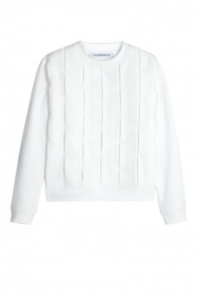 Smock Long Sleeve Sweat Top By J.W. Anderson