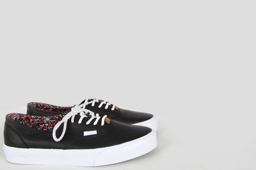 Vans Era Decon Ca Nappa Leather Black Nouveautes