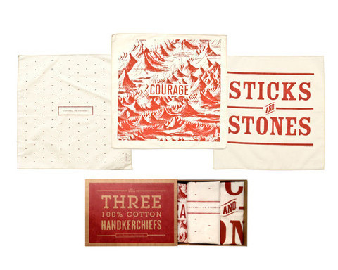 O Pioneers Handkerchief Set Izola