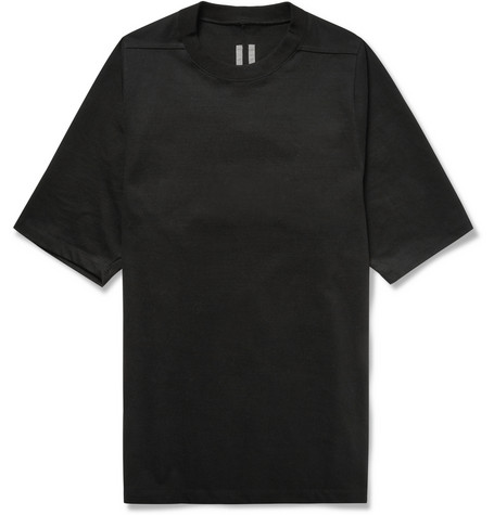 Rick Owens Oversized Cotton Jersey T Shirt Mr Porter
