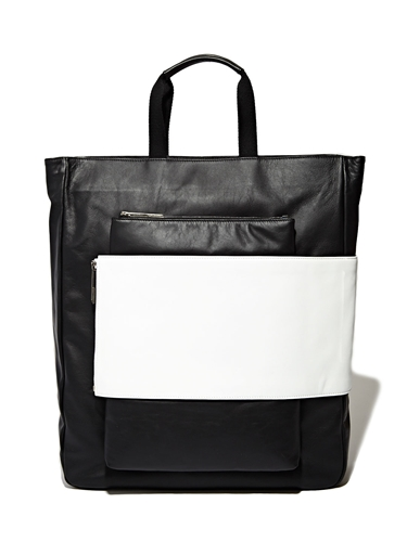 Nicomede Talavera X Eastpak Full Leather Untitled 0077 Tote Bag Ln Cc