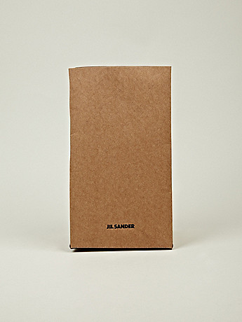 Jil Sander Men s Cardboard Sandwich Bag in small brown at oki ni