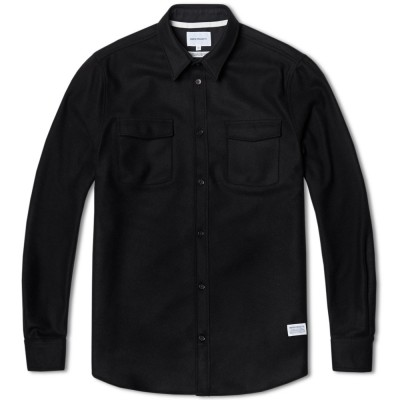 Norse Projects Jens Melton Shirt Black