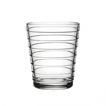 Aino Aalto Tumbler 22 Cl Clear Set Of 2 Iittala Aino Aalto Glasses Tableware Finnish Design Shop