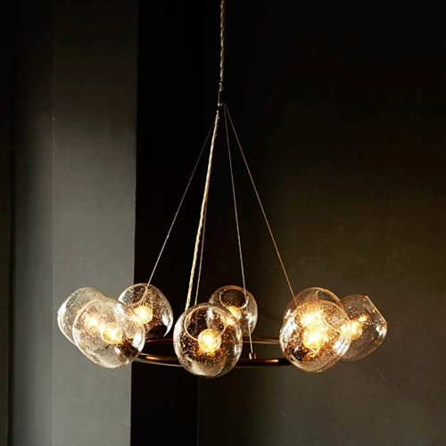 Eclipse Chandelier Halo West Elm