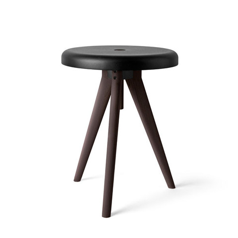 Menu Flip Around Stool Side Table Tray In Dark Ash By Norm Architects Home Accessories Vertigo Home