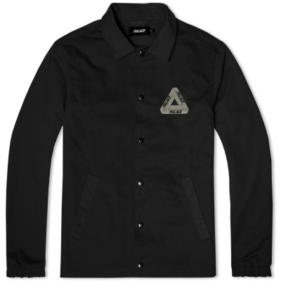 Palace Tri Ferg Hyper Colour Coach Jacket Black