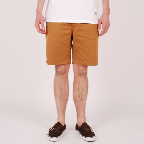 Norse Projects Aros Light Shorts Wood Thrush Mustard