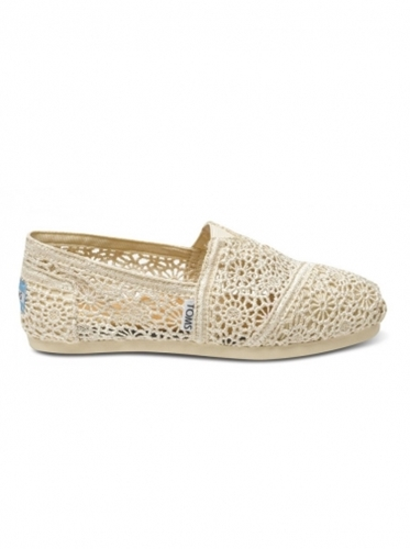 Shoes Toms Natural Crochet Women's Classics